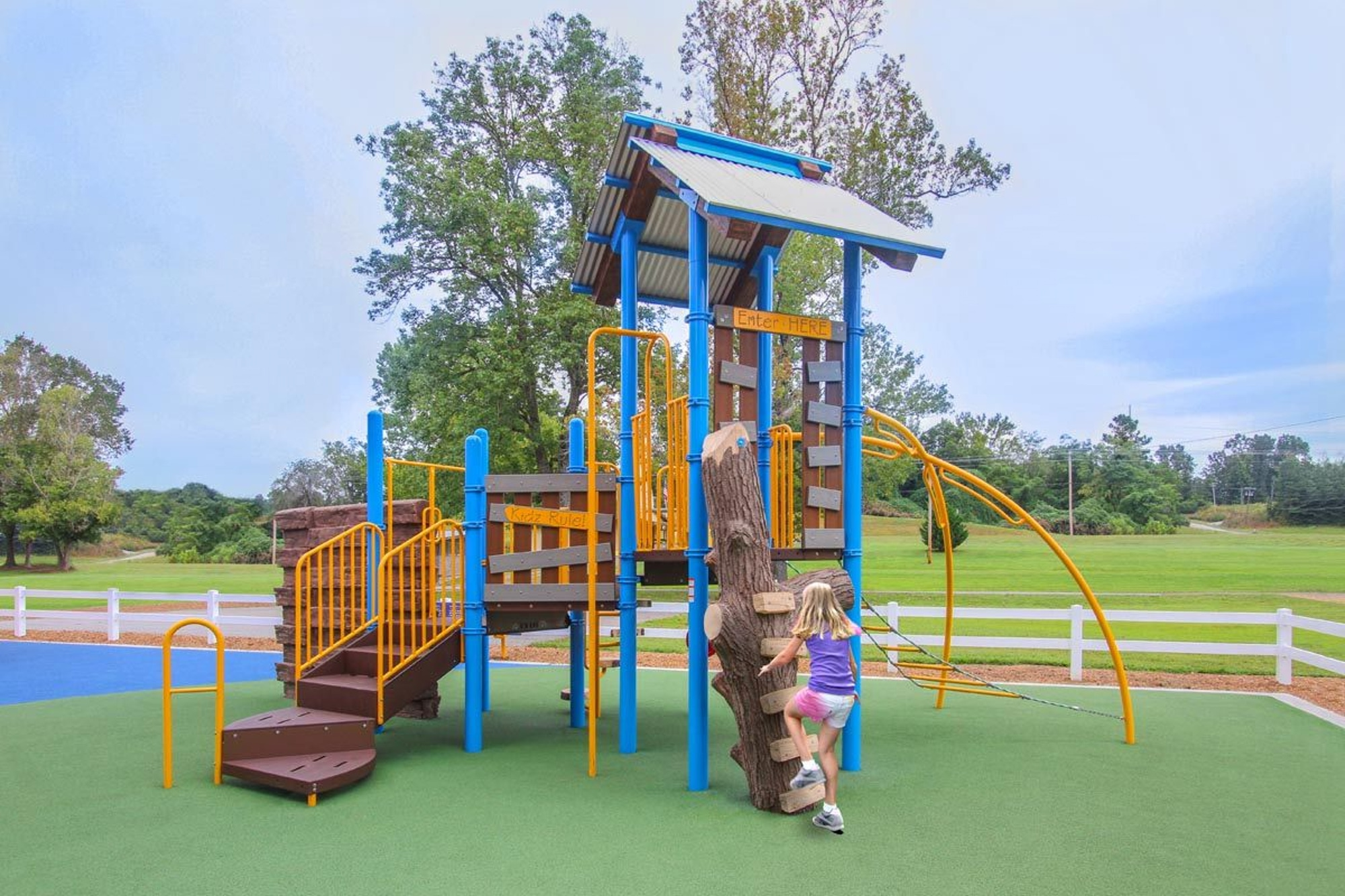 Park Architecture playground