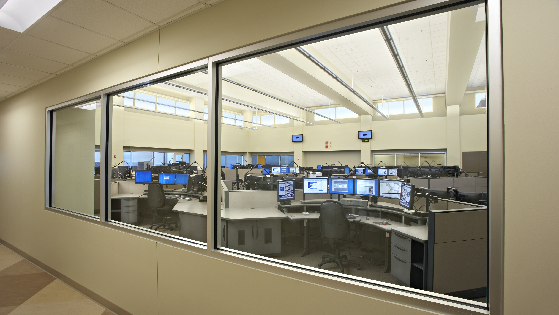 DCC int view of dispatch thru window