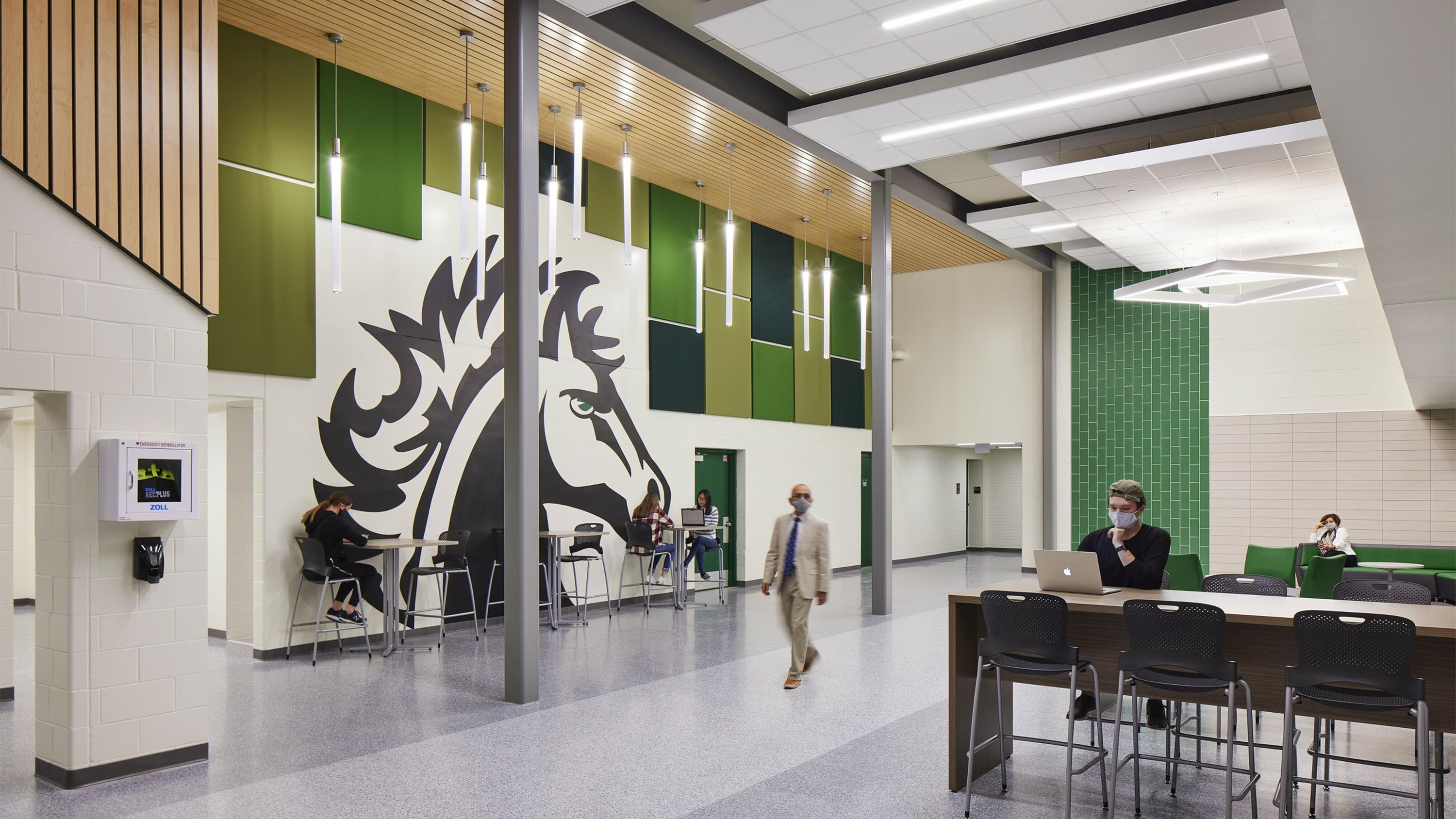 Mounds View High School 4