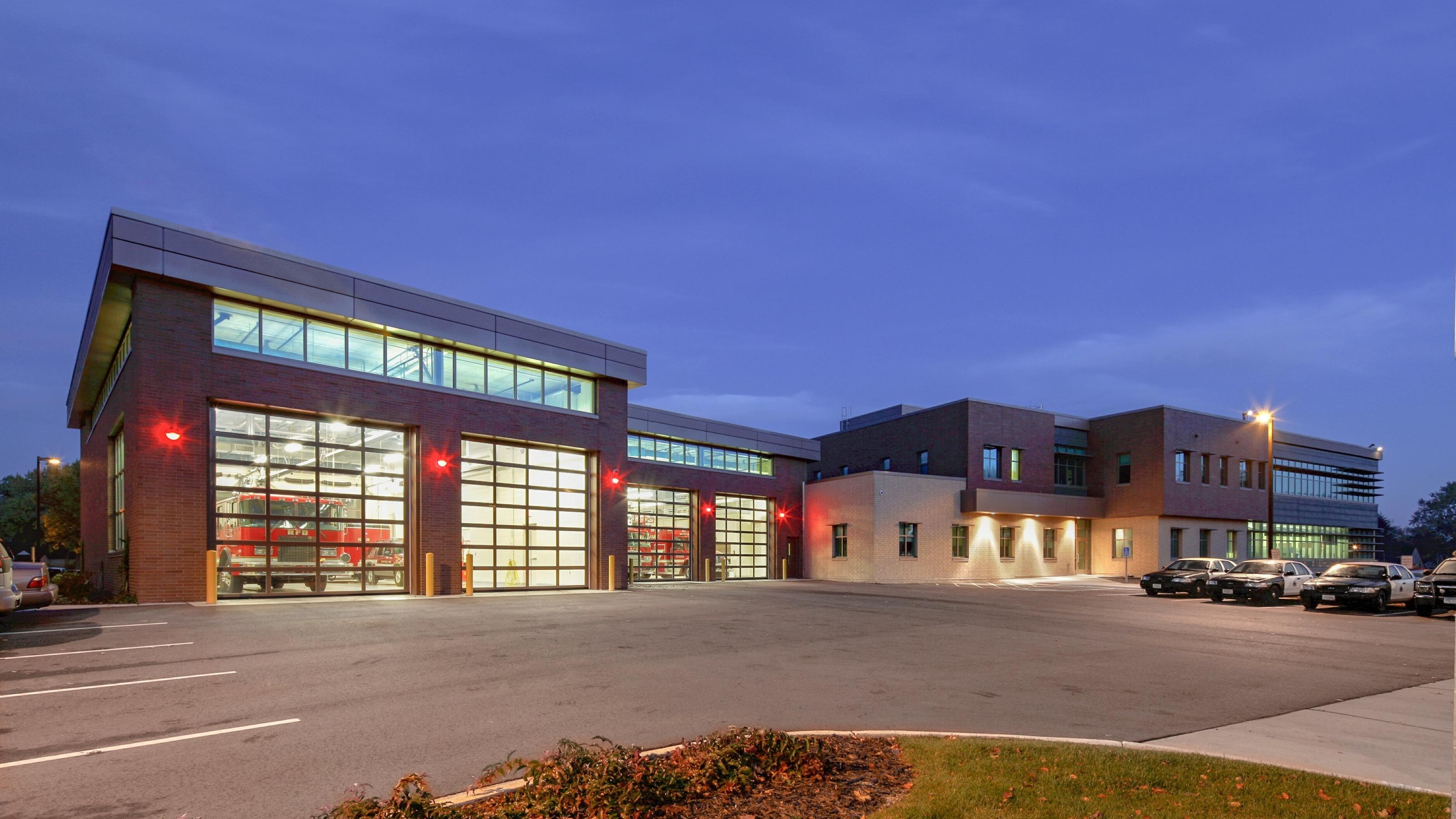 City of Richfield New City Hall Police and Fire3