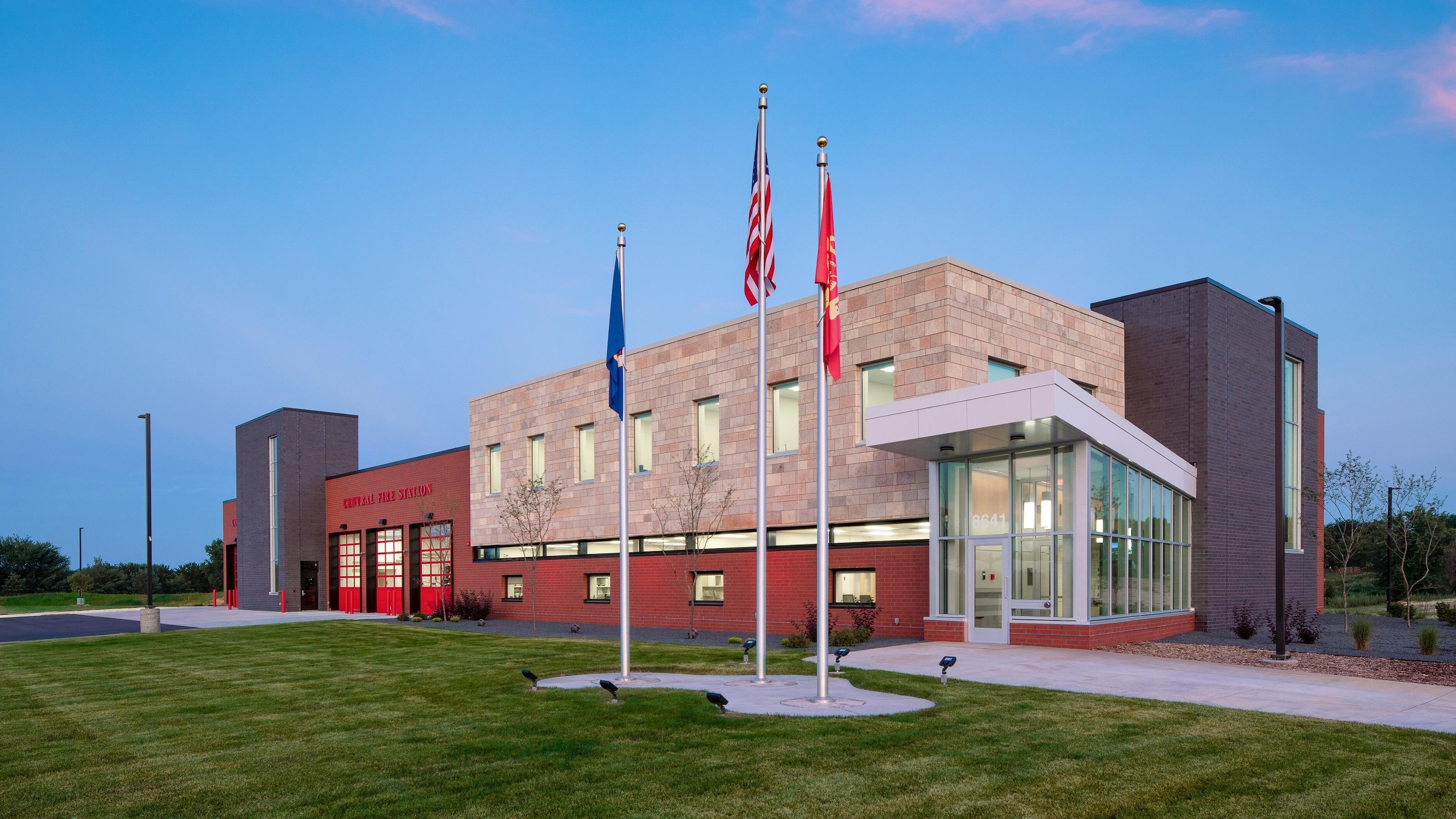 Cottage Grove Central Fire Station1