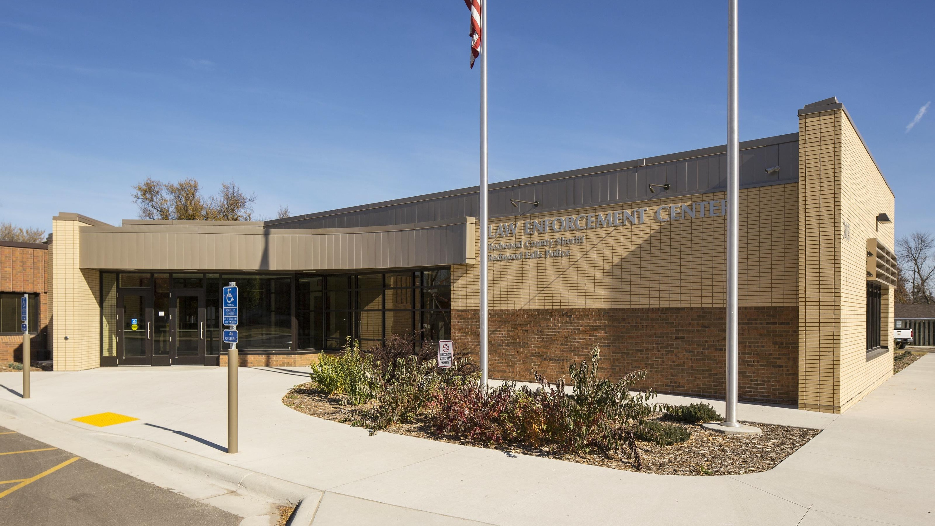Redwood County Jail and law enforcement center